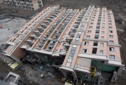 Building in Shanghai Fail