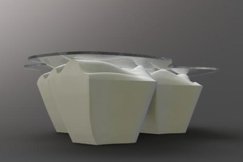 Robotic Arm Radial Foam Cutter